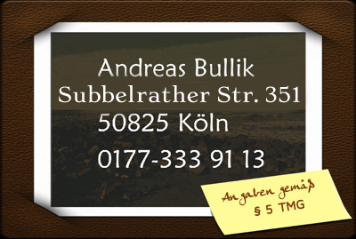 Name, Adresse und Telefon von Andreas Bullik